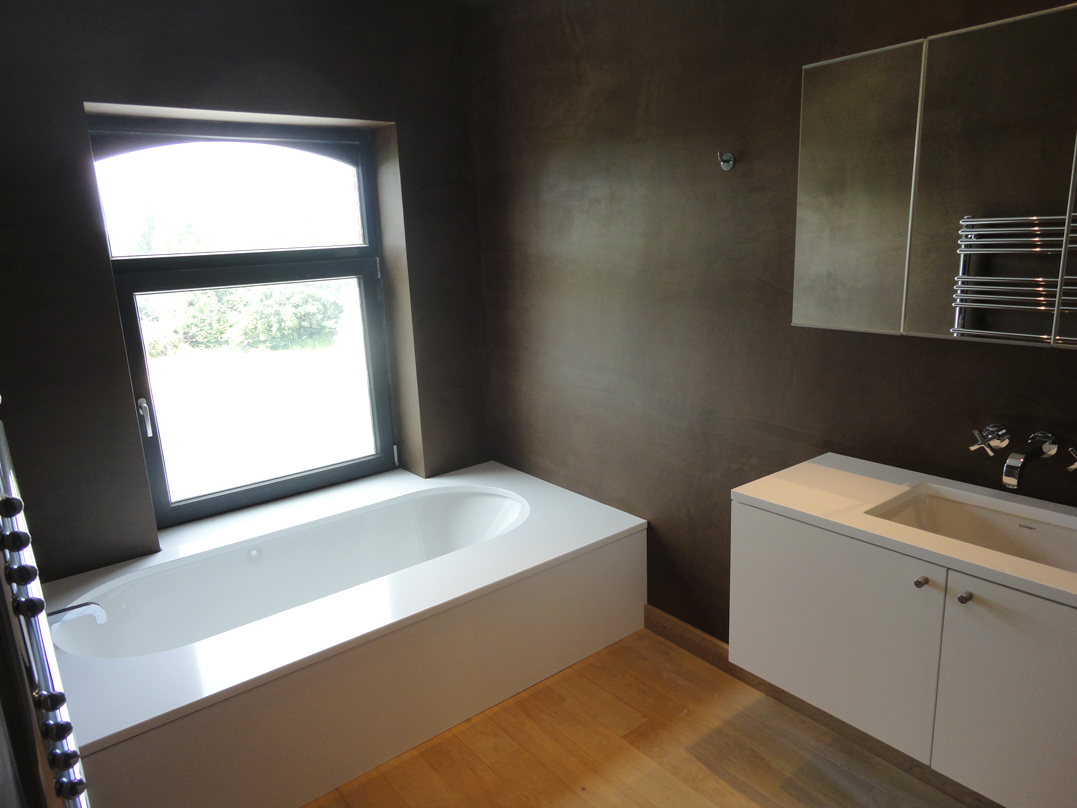 Salle de bain parents architecte d 39 int rieur wallonie for Architecte interieur salle de bain